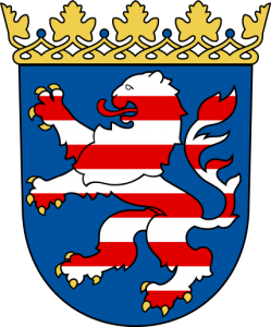 Hessens Wappen (Quelle: wikipedia)